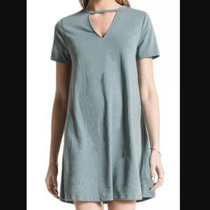 NWT Z Supply The Cut Out Front Tee Dress